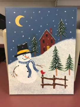 Winterstown UMC Paint Night!